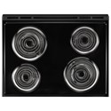 Whirlpool Electric Ranges 4.8 cu. ft. Coil Electric Range with Guided Cooktop Controls