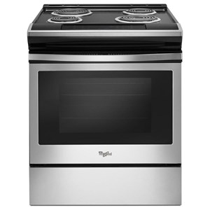 Whirlpool Electric Ranges 4.8 Cu. Ft. Coil Electric Range