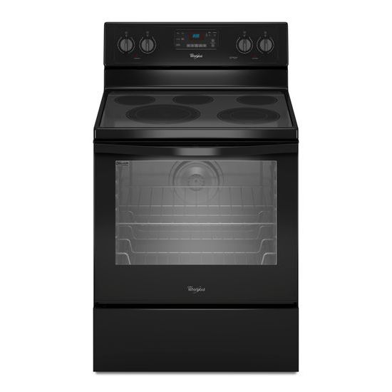 Whirlpool Electric Ranges 6.4 Cu. Ft. Electric Range - Item Number: WFE540H0EB