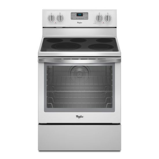 Whirlpool Electric Ranges 6.4 Cu. Ft. Electric Range - Item Number: WFE540H0EH