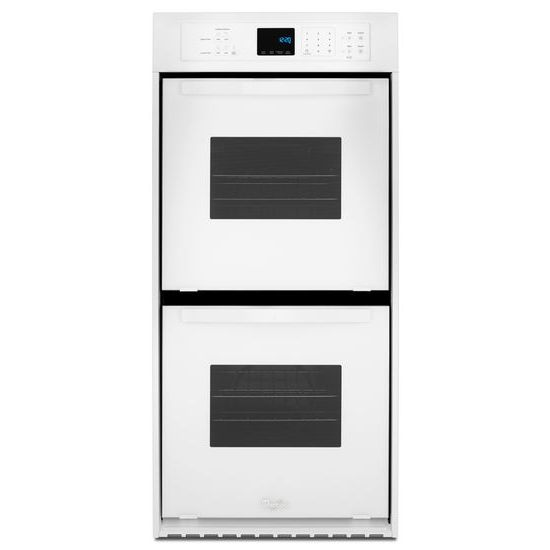 Whirlpool Electric Wall Ovens - Whirlpool 6.2 Cu. Ft. Double Wall Oven - Item Number: WOD51ES4EW