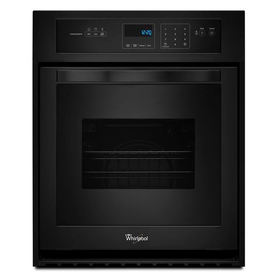 Whirlpool Electric Wall Ovens - Whirlpool 3.1 Cu. Ft. Single Wall Oven - Item Number: WOS11EM4EB