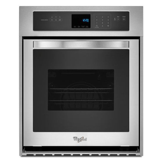 Whirlpool Electric Wall Ovens - Whirlpool 3.1 Cu. Ft. Single Wall Oven - Item Number: WOS51ES4ES