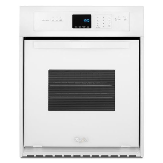 Whirlpool Electric Wall Ovens - Whirlpool 3.1 Cu. Ft. Single Wall Oven - Item Number: WOS51ES4EW
