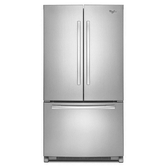 Whirlpool French Door Refrigerators 25 cu. ft. French Door Refrigerator - Item Number: WRF535SWBM