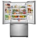 Whirlpool French Door Refrigerators 36-inch Wide French Door Refrigerator with Water Dispenser - 25 cu. ft.