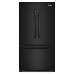 Whirlpool French Door Refrigerators 20 cu. ft. Counter Depth French Door Fridge