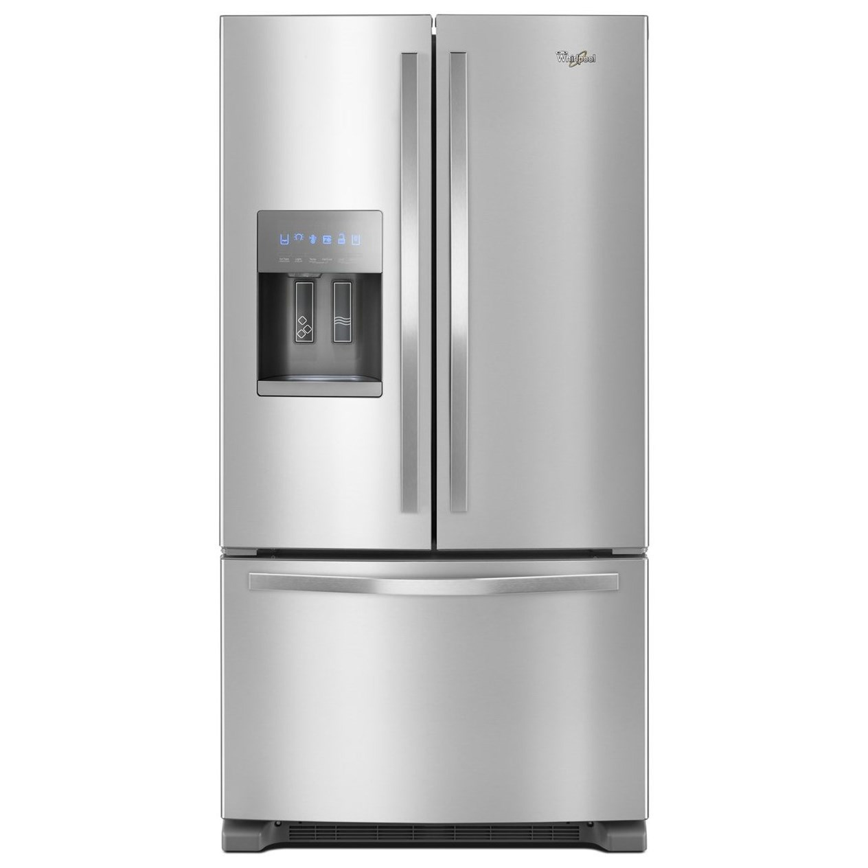 French Door Refrigerators 36-inch Wide French Door Refrigerator by Whirlpool at Furniture Fair - North Carolina