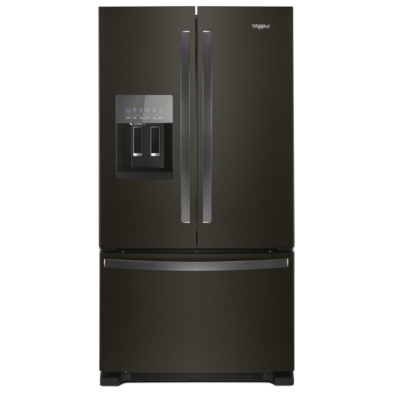 Whirlpool Wrf555sdhv 36 Inch Wide French Door Refrigerator