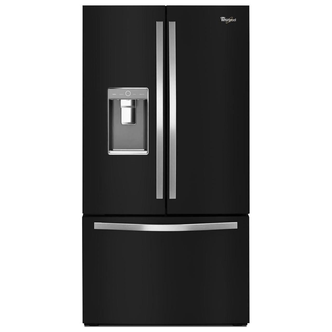 Whirlpool French Door Refrigerators 36-inch Wide French Door Refrigerator - Item Number: WRF992FIFE