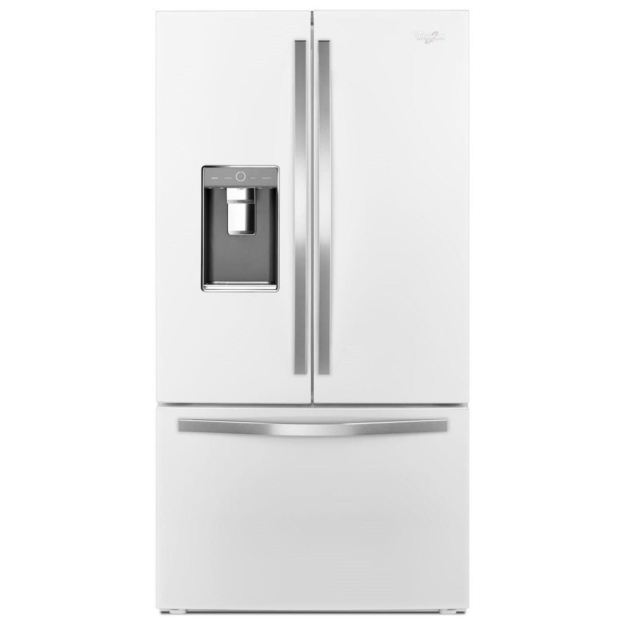 Whirlpool French Door Refrigerators 36-inch Wide French Door Refrigerator - Item Number: WRF992FIFH