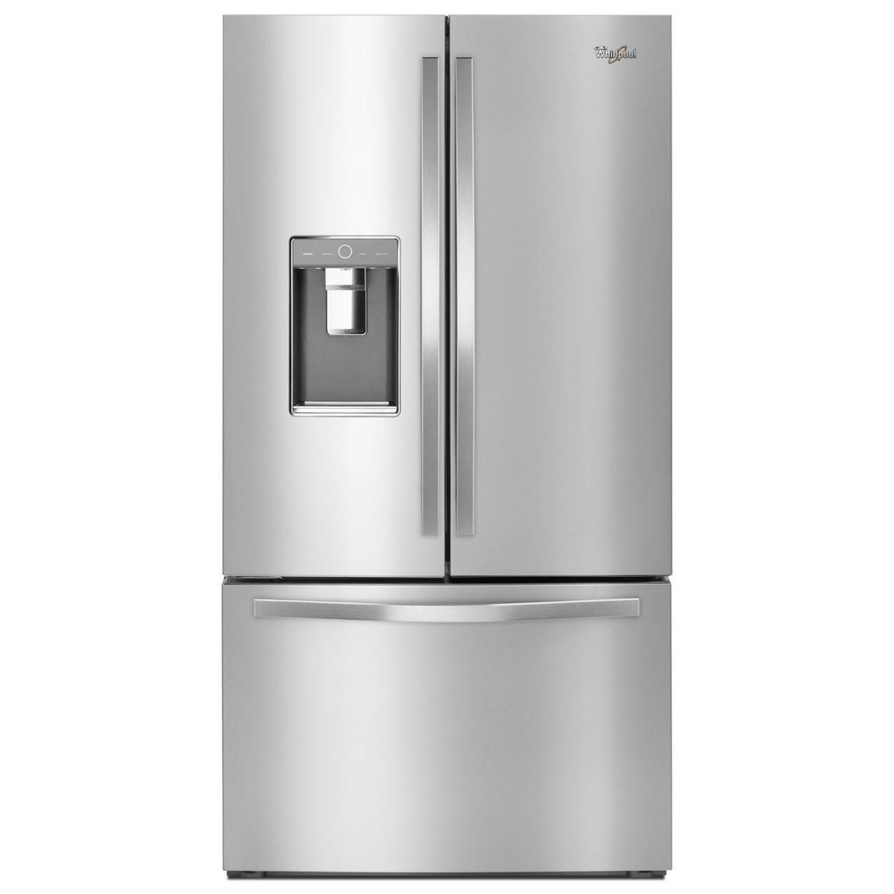 Whirlpool French Door Refrigerators 36-inch Wide French Door Refrigerator - Item Number: WRF992FIFM