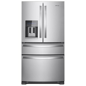 "Whirlpool French Door Refrigerators 25 Cu. Ft. 36"" French Door Refrigerator"