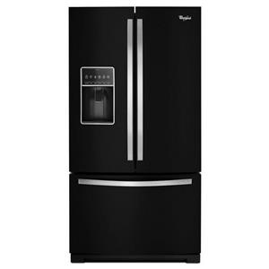 "Whirlpool French Door Refrigerators 36"" French Door Freezer Refrigerator"
