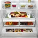 Whirlpool French Door Refrigerators 25 cu. ft. ENERGY STAR® Freestanding French Door Refrigerator with Greater Capacity