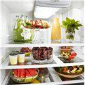 Whirlpool French Door Refrigerators 19.6 Cu. Ft. French-Door Refrigerator with Exterior Dispenser - Spillsaver™ Glass Shelves