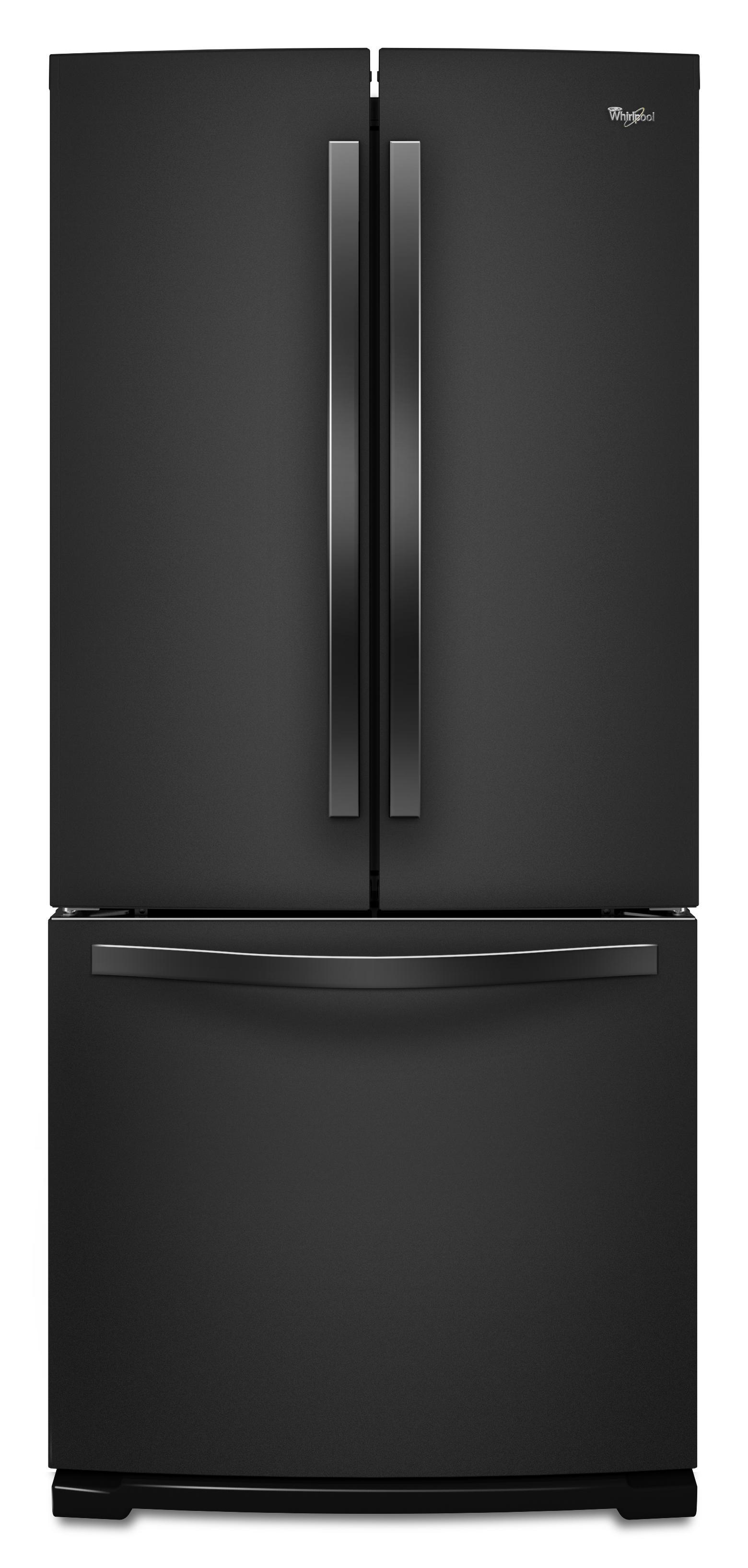 Whirlpool French Door Refrigerators 19.6 Cu. Ft. French-Door Refrigerator - Item Number: WRF560SMYB