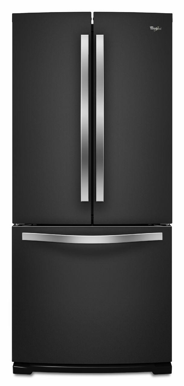 Whirlpool French Door Refrigerators 19.6 Cu. Ft. French-Door Refrigerator - Item Number: WRF560SMYE