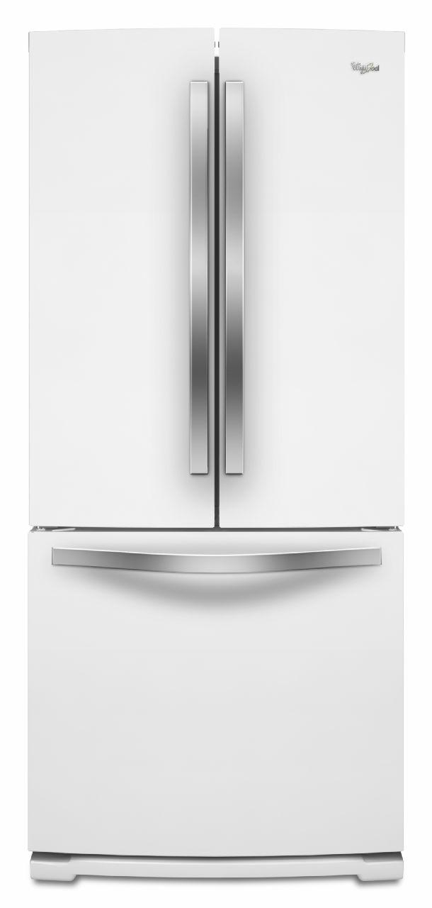 Whirlpool French Door Refrigerators 19.6 Cu. Ft. French-Door Refrigerator - Item Number: WRF560SMYH