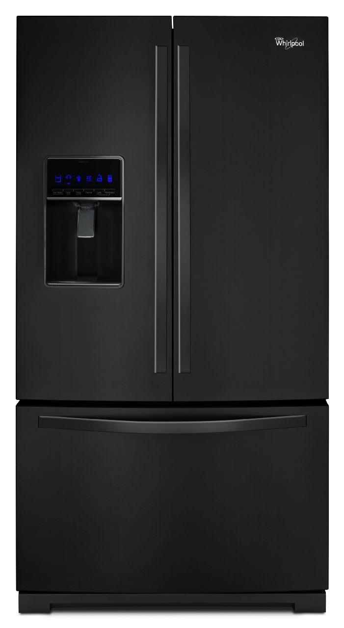 Whirlpool French Door Refrigerators 26 Cu. Ft. French Door Refrigerator - Item Number: WRF736SDAB