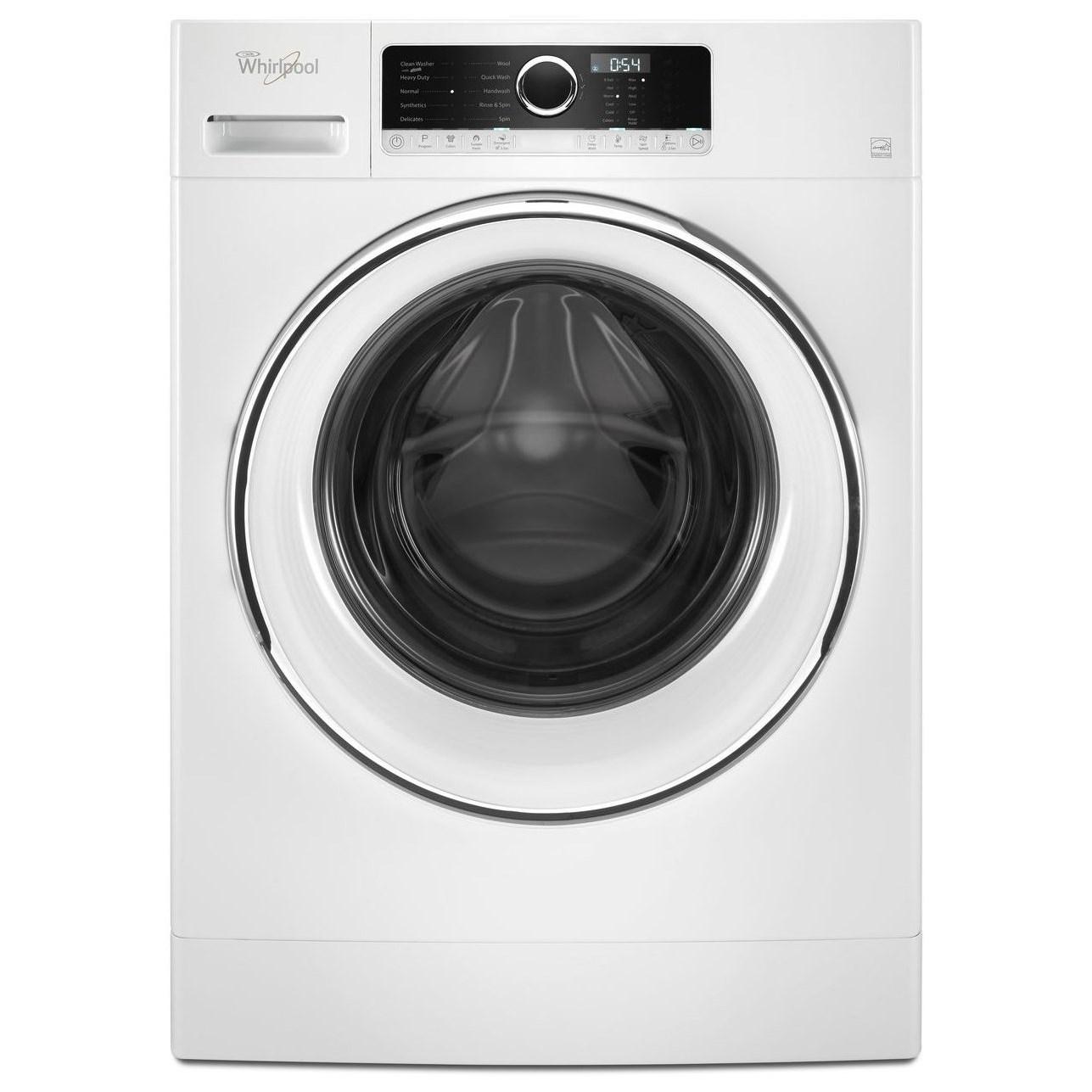 compact front loading washing machine