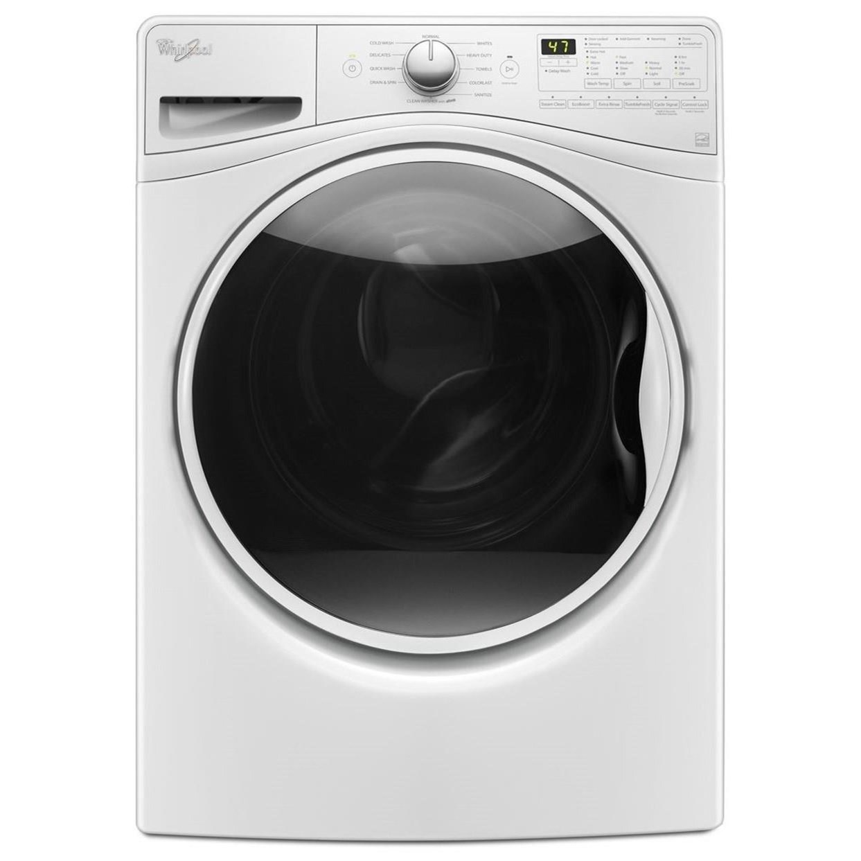 Whirlpool Front Load Washers 4.5 cu. ft. Front Load Washer - Item Number: WFW85HEFW