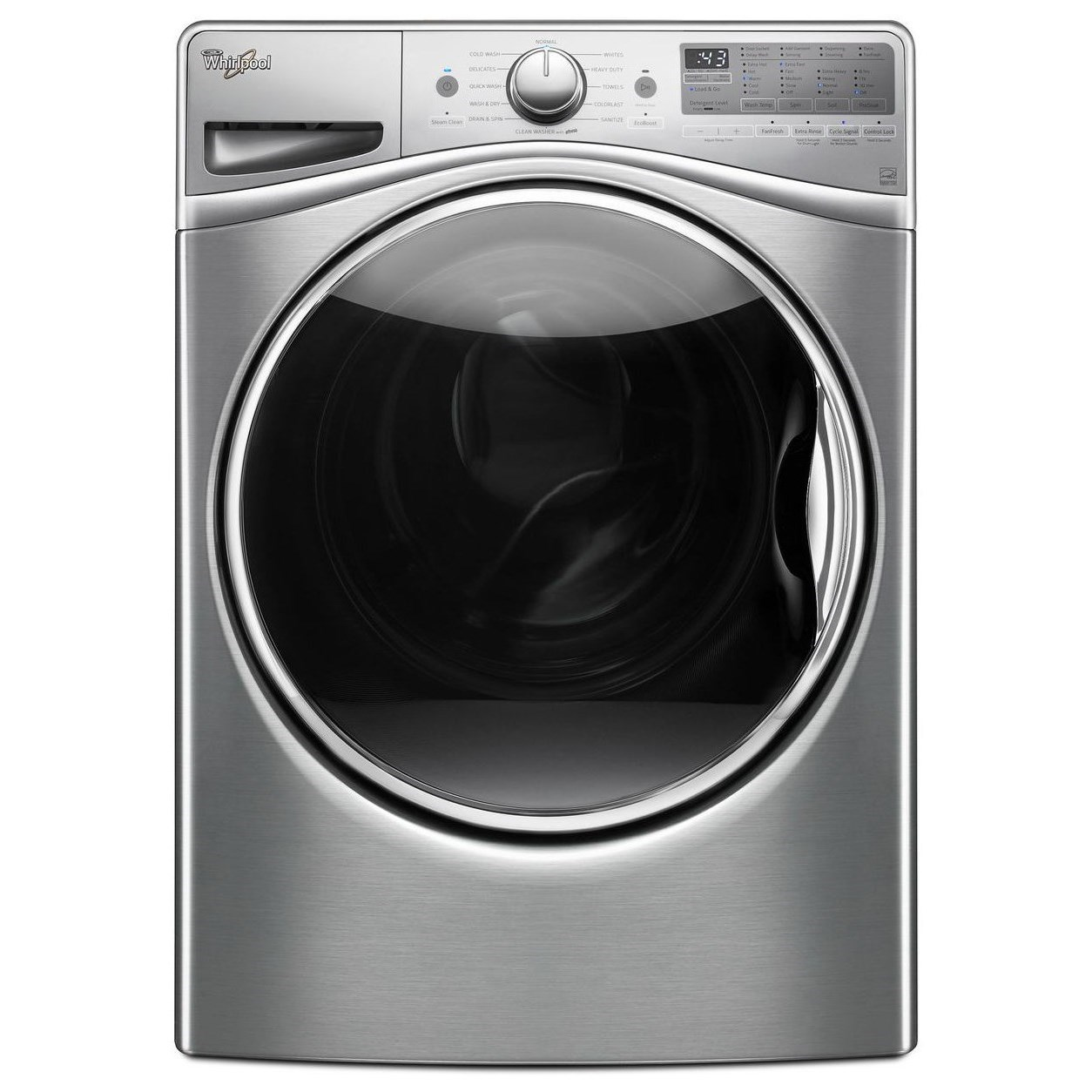 Whirlpool Front Load Washers 4.5 cu. ft. Front Load Washer - Item Number: WFW92HEFU