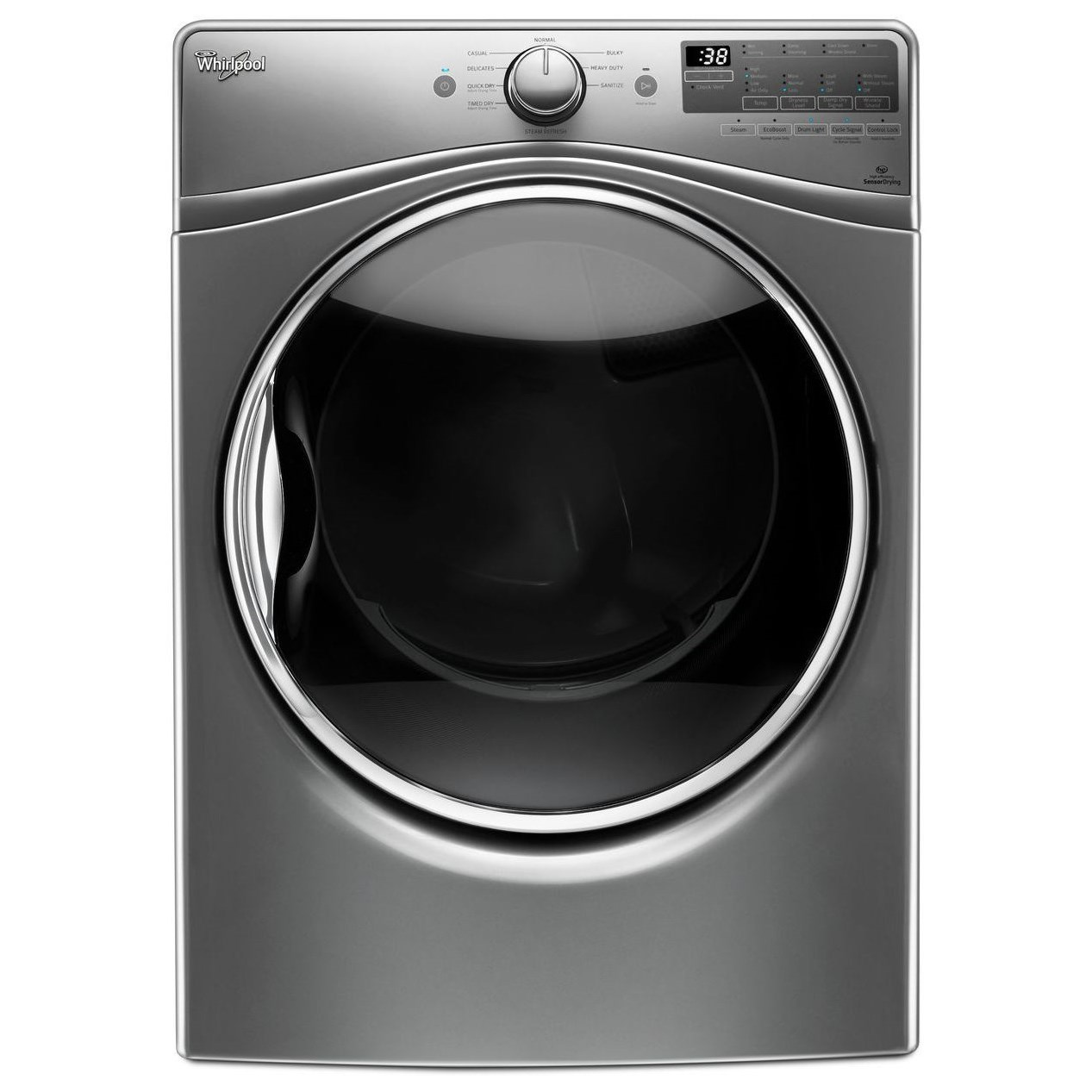 Whirlpool Gas Dryers 7.4 cu. ft. Gas Dryer - Item Number: WGD90HEFC