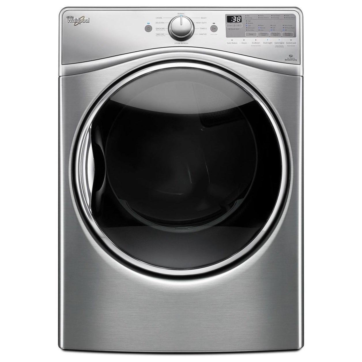 Whirlpool Gas Dryers 7.4 cu. ft. Gas Dryer - Item Number: WGD92HEFU