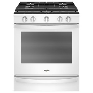5.8 Cu. Ft. Smart Slide-in Gas Range
