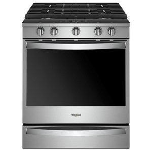 Whirlpool Gas Ranges 5.8 Cu. Ft. Smart Slide-in Gas Range