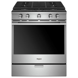 Whirlpool Gas Ranges 5.8 Cu. Ft. Slide-in Gas Range