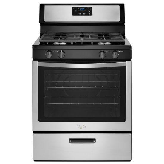 Whirlpool Gas Ranges 5.1 cu. ft. Freestanding Gas Range with Unde - Item Number: WFG320M0BS