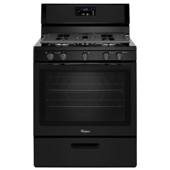 Whirlpool Gas Ranges 5.1 cu. ft. Freestanding Gas Range with Five - Item Number: WFG505M0BB