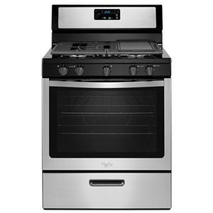Whirlpool Gas Ranges 5.1 cu. ft. Freestanding Gas Range with Five