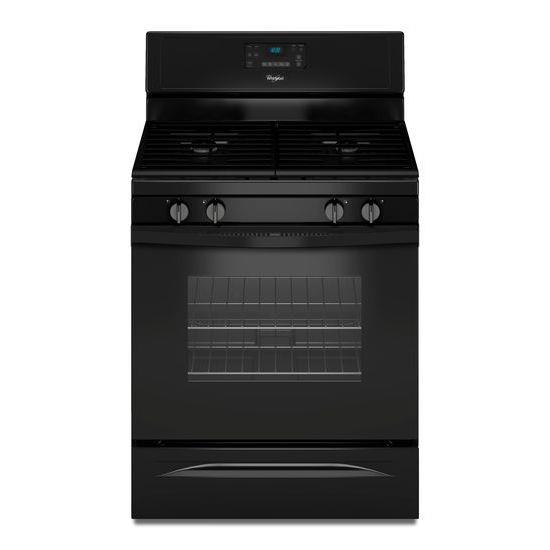 Whirlpool Gas Ranges 5.0 Cu. Ft. Freestanding Gas Range - Item Number: WFG515S0EB