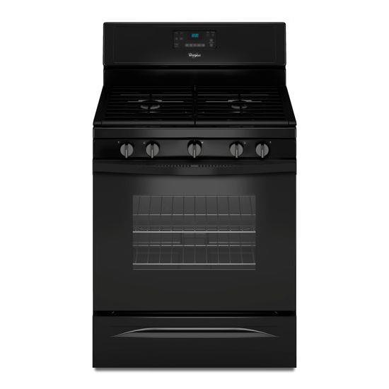 Whirlpool Gas Ranges 5.0 Cu. Ft. Freestanding Gas Range - Item Number: WFG530S0EB