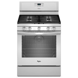 Whirlpool Gas Ranges 5.8 Cu. Ft. Freestanding Gas Range