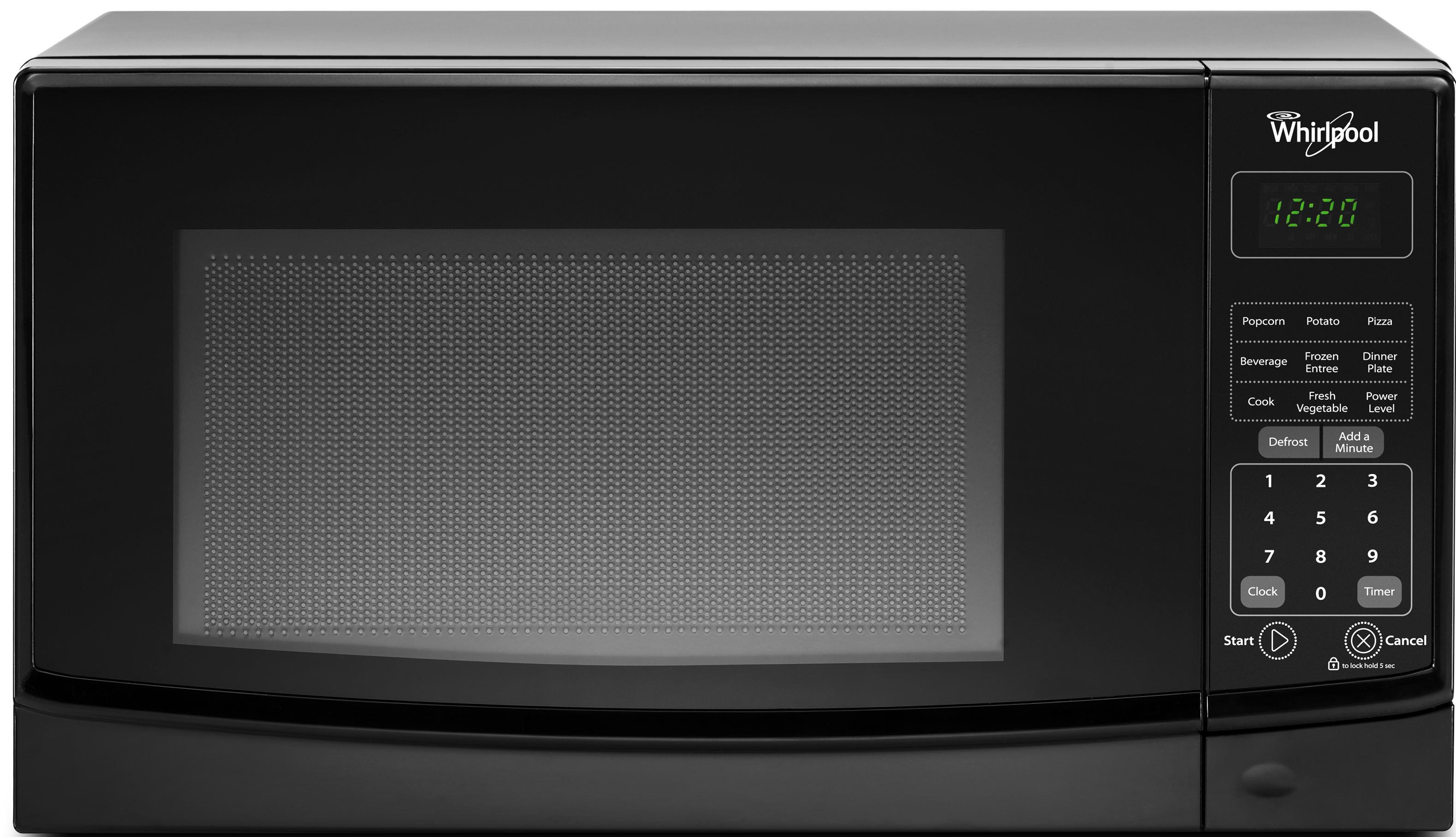 Whirlpool Wmc10007ab 0 7 Cu Ft Countertop Microwave With 700 Watts Cooking Power Furniture And Appliancemart Microwaves Countertop