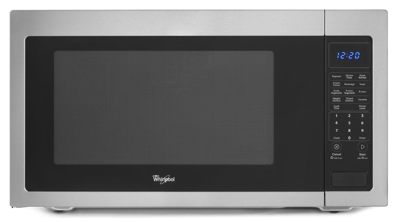 Whirlpool Microwaves - Whirlpool 2.2 Cu. Ft. Countertop Microwave - Item Number: WMC50522AS