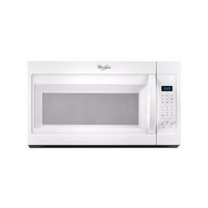 Whirlpool Microwaves - Whirlpool 1.7 cu. ft. Microwave Hood Combination with