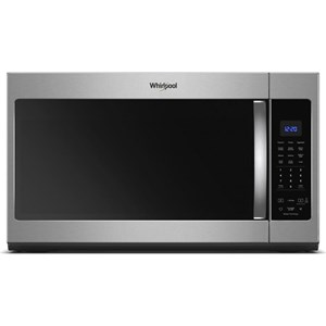 Whirlpool Microwaves- Whirlpool 1.9 cu. ft. Capacity Steam Microwave