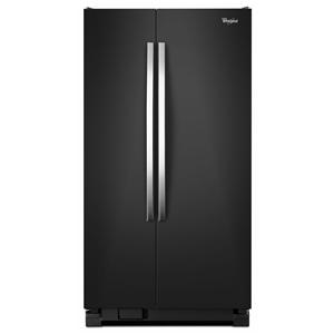 Whirlpool Side by Side Refrigerators 22 cu. ft. Large Side-by-Side Refrigerator