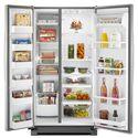 Whirlpool Side by Side Refrigerators 25 cu. ft. Side-by-Side Refrigerator