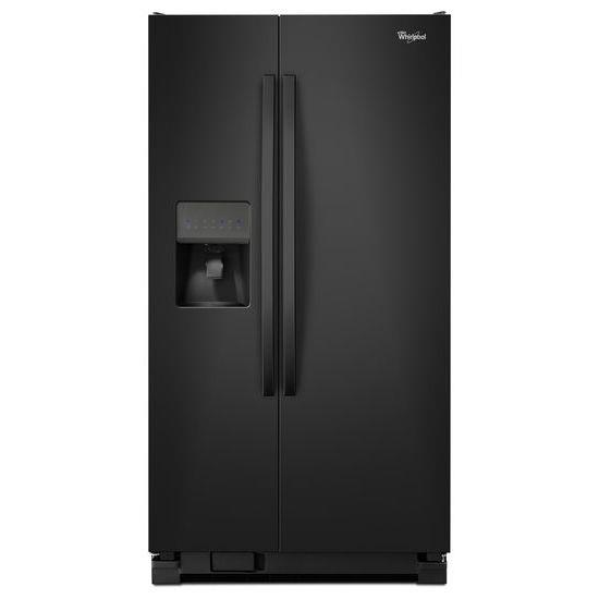 Whirlpool Side by Side Refrigerators 25 cu. ft., 36-Inch Side-X-Side Refrigerator - Item Number: WRS335FDDB