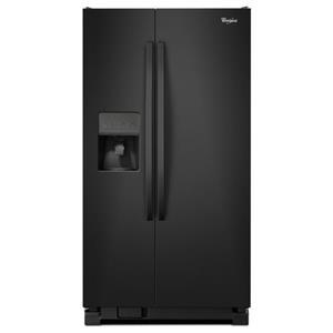 Whirlpool Side by Side Refrigerators 25 cu. ft., 36-Inch Side-X-Side Refrigerator