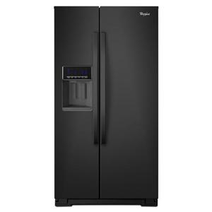 Whirlpool Side by Side Refrigerators 26 cu. ft. Side-by-Side Refrigerator with Te