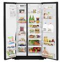 Whirlpool Side by Side Refrigerators 26 cu. ft. Side-by-Side Refrigerator with Temperature Control