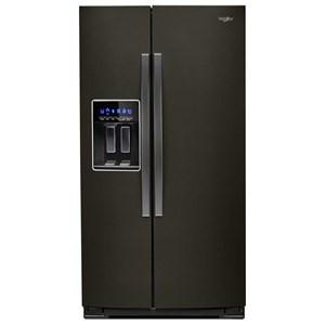 Whirlpool Side by Side Refrigerators 36-inch Wide Side-by-Side Refrigerator