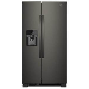 "21 Cu. Ft. 33"" Side-by-Side Refrigerator"